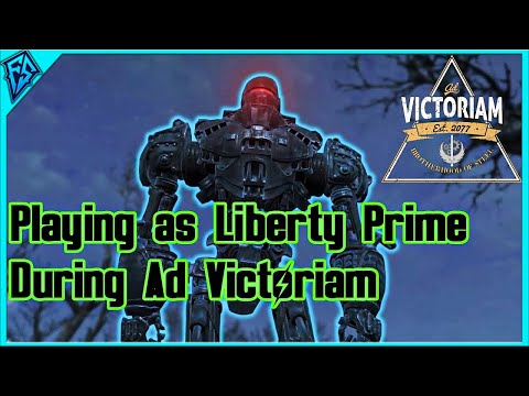 Fallout 4 | Playing as Liberty Prime During Ad Victoriam Quest