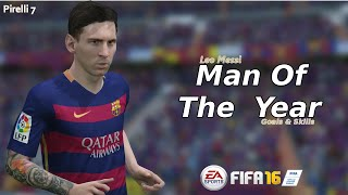 FIFA 16: Leo Messi ● Man Of The Year ● Goals & Skills  |HD| - Pirelli7