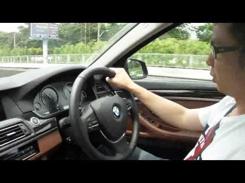ทดสอบขับรถ BMW ซีรี่ย์ 5 (F10) Active Hybride 340Hp