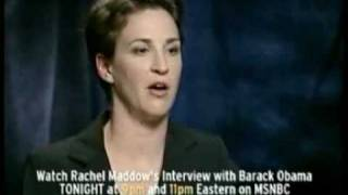 Sen. Obama on threats to America Rachel Maddow