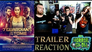 """7 Guardians of the Tomb"" 2018 Spider Movie Trailer Reaction - The Horror Show"