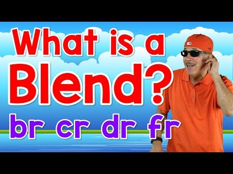 What Is a Blend? | br, cr, dr, fr | Writing & Reading Skills for Kids | Phonics Song | Jack Hartmann