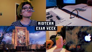 COLLEGE MIDTERM EXAM WEEK VLOG