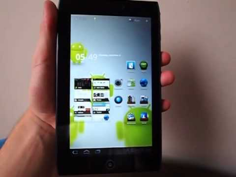 Acer Iconia Tab A100 hands-on video