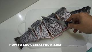 How to Fry Whole Fish - Whole Easy Simple Seabass