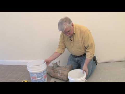 Thinset For Ceramic Tile Floors Youtube