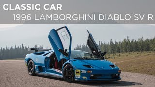 Classic Car | 1996 Lamborghini Diablo SV R | Driving.ca