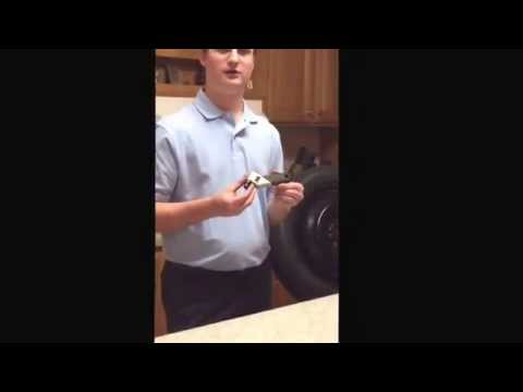 How to check tire pressure and inflate a tire by Jonathan Harrison