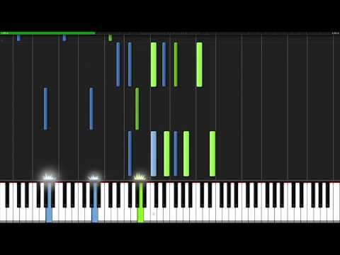 Prelude in C-sharp minor (Opus 3 No. 2) - Sergei Rachmaninoff [Piano Tutorial] (Synthesia)