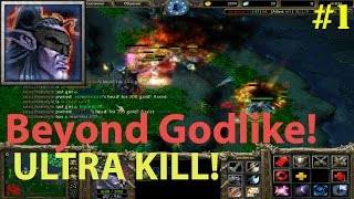 DoTa 6.83d Magina, Anti Mage  Beyond GODLIKE (Ultra KILL ) #1
