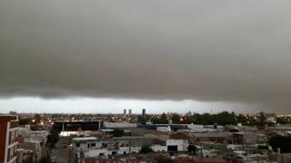 Tormenta en Córdoba, así llegaba el 25 de enero de 2019