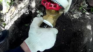 Полив на даче .Водопровод из ПНД трубы своими руками.Готовим карпа на углях