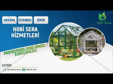 İstanbul İzmir Bursa Ankara Hobi Sera Kurulumu - Mini Küçük Seralar