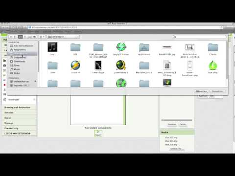 App Inventor 2 Tutorial simpler mp3 Player