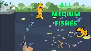 Cat Goes Fishing 2.0 #22. ВСЕ СРЕДНИЕ РЫБЫ / ALL MEDIUM FISHES CHALLENGE!
