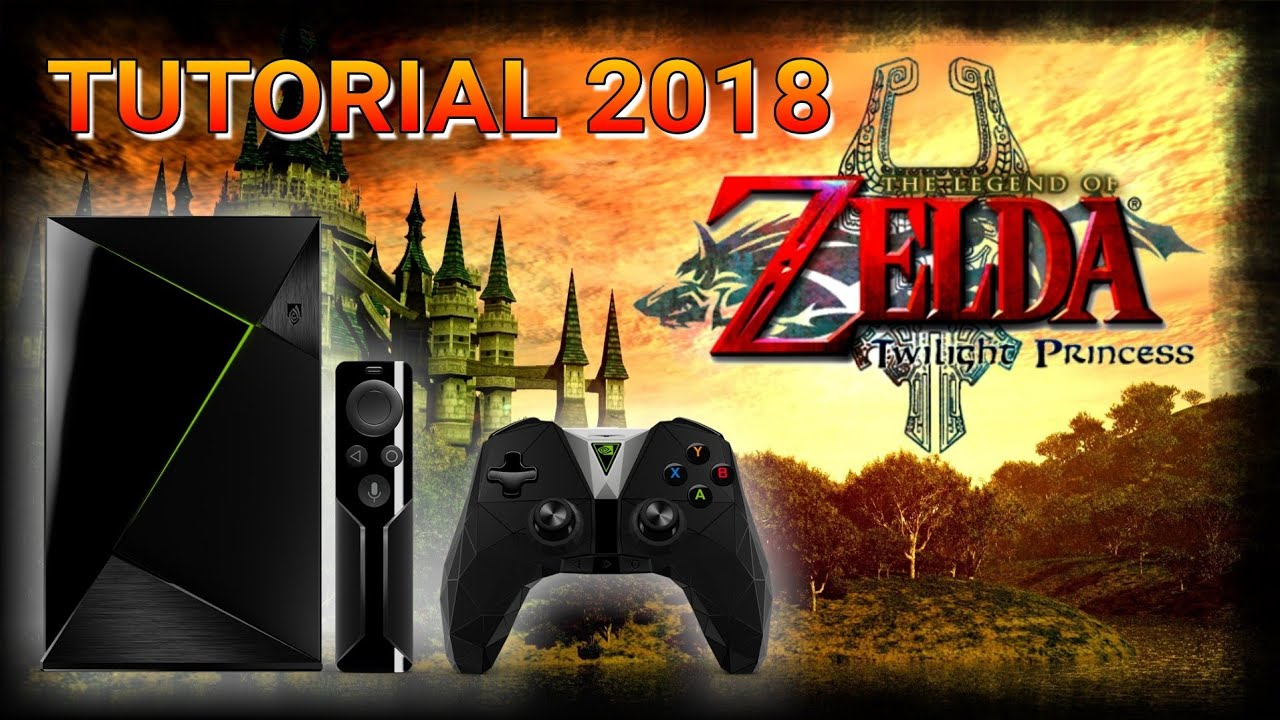 Dolphin: Tutorial Speed Hack ZELDA TP HD - NVIDIA SHIELD TV