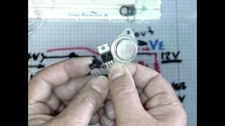 2 Regulador de Tension con zener y con transistor. Zener and Transistor Voltage Regulator