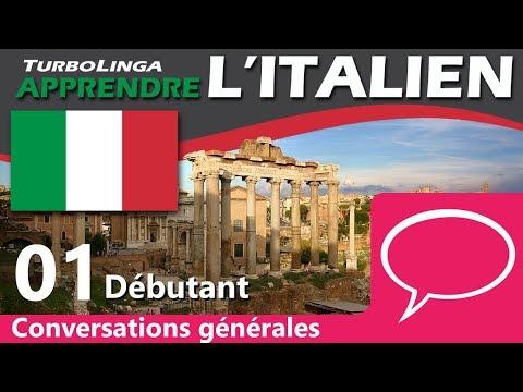 Apprendre l'italien pour débutants - Conversations générales 01