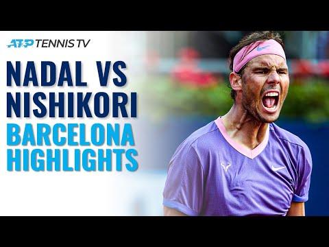 Rafael Nadal vs Kei Nishikori | Barcelona 2021 Highlights