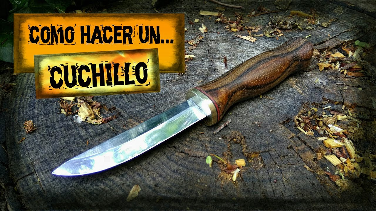 Como hacer un cuchillo how to make a knife youtube for Como pulir un cuchillo