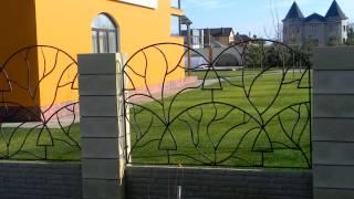 Красивые заборные секции из металла, решетка для забора в частном доме, на даче(, 2016-09-15T11:15:13.000Z)