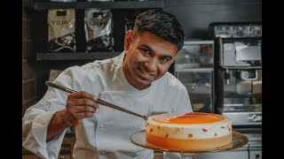 Belle Provence Cake by chef Ankit Rajak