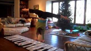 christmas handstand music