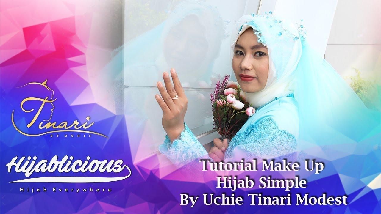 Hijablicious Tutorial Make Up Hijab Sederhana Ala Uchi ...