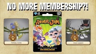 What happens when MEMBERSHIP EXPIRES (runs out) on Animal Jam?