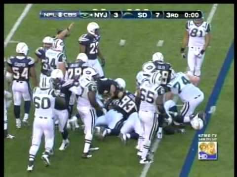 Jets vs. Chargers, AFC Playoffs, 2010