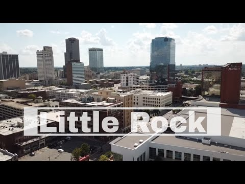 Little Rock, Arkansas | William J. Clinton Library And Museum | Arkansas River