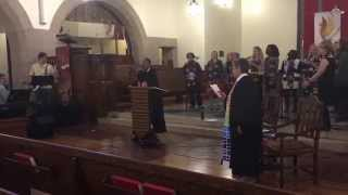 """Funga Alafia, Ashe Ashe""--""Empowerment Sunday"" Gospel Service at SLU--October 25, 2015"