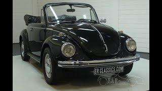Volkswagen Beetle 1303 1973-VIDEO- www.ERclassics.com