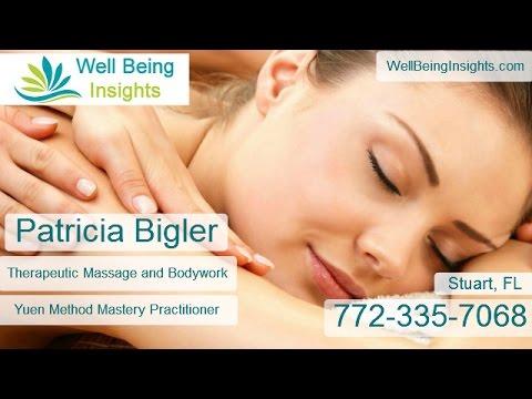 Massage Therapist Stuart FL Patricia Bigler - Yuen Method Practitioner