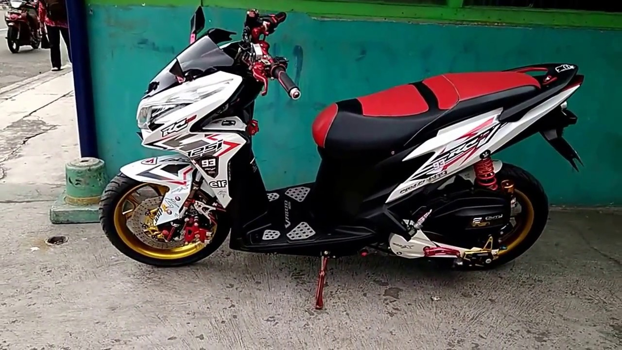Modifikasi Vario 125 Old Kumpulan Modifikasi Motor Vario