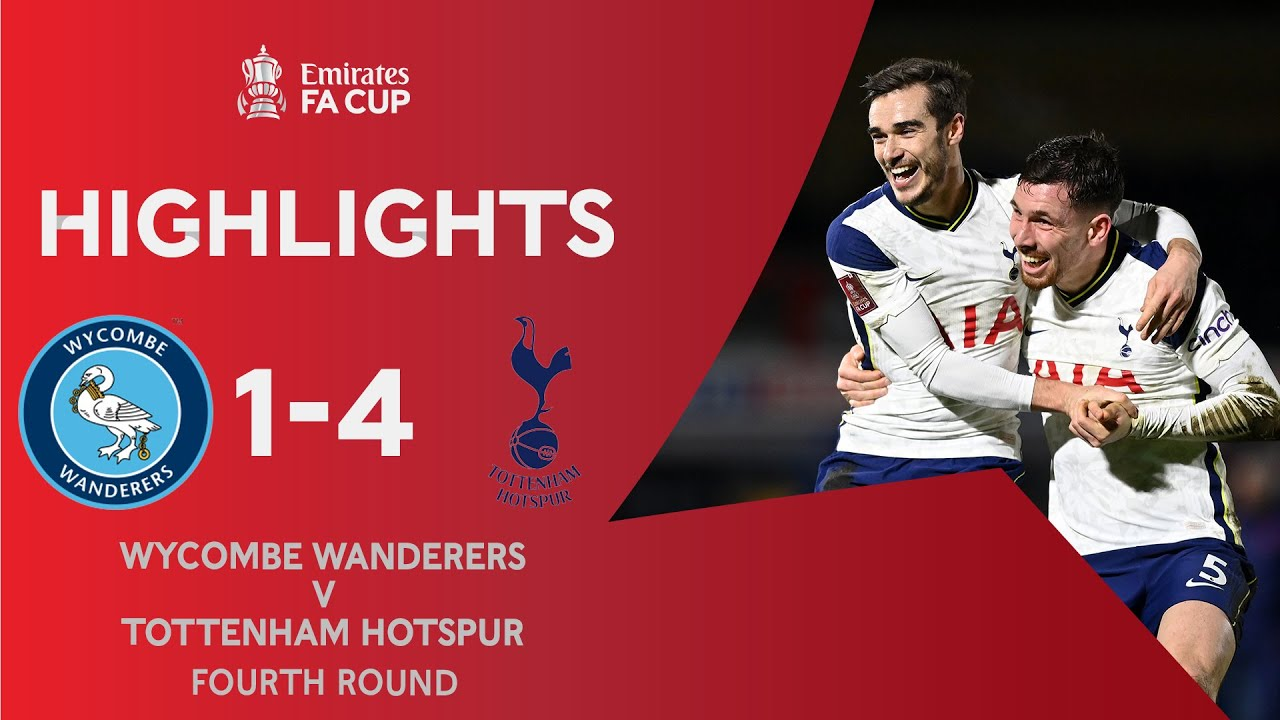 Lucas Moura Bags Assist As Tottenham Beat Wycombe Wanderers 4 1 To Advance Further In The Fa Cup Sambafoot