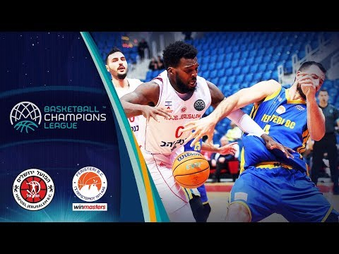 Hapoel Jerusalem V Peristeri Winmasters – Highlights – Rd 16 – Basketball Champions League 2019-20