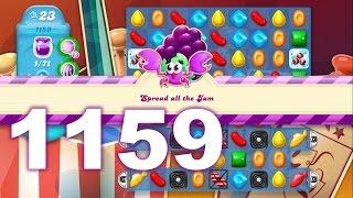 Candy Crush Soda Saga Level 1159 (No boosters)