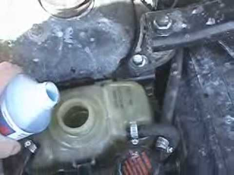 How To Fix A Coolant Leak With Bluedevil Pour N Go Head Gasket