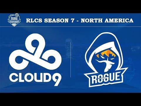 Cloud9 vs Rogue | RLCS Season 7 - North America [20th April 2019]
