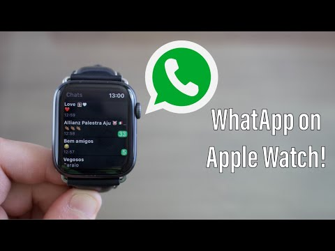 WhatsApp On Apple Watch!
