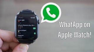 WhatsApp on Apple Watch!