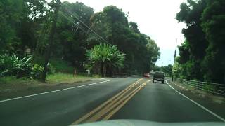 Driving in Hawaii, The Big Island