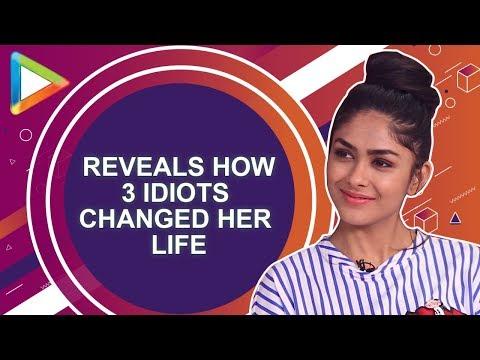 "Mrunal Thakur: ""3 Idiots CHANGED my life""   Love Sonia"