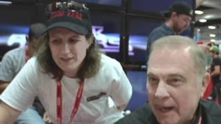 COMIC-CON 2011 (SANGO)  PopTopicTV w/ Juliet Ladines Buck Rogers Interview