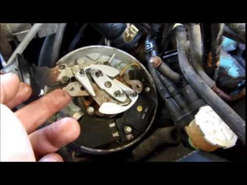 GM HEI distributor - Advance Curve Kit install - YouTube