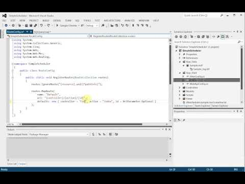 Event Calendar For ASP.NET MVC Video Tutorial
