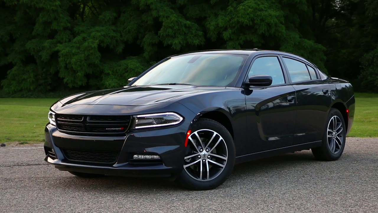 2019 dodge charger sxt driving - exhaust sound