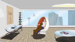 Ovalia Egg Chair Commercial by CTRL+Z