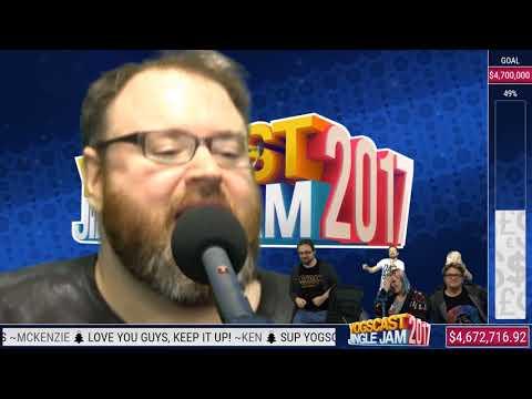 """Simon actually sings """"Better Work B*tch"""" - Karaoke ( Yogscast Jingle Jam 2017)"""